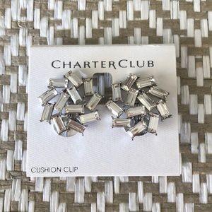 🧚🏼♀️CHARTER CLUB Clip on Earrings
